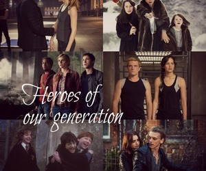 heroes, narnia, and divergent image