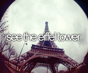 before i die, eiffel tower, and paris image
