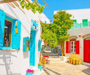 Greece, colorful, and place image