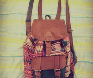 bag, colors, and retro image