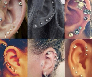 piercing, fashion, and style image