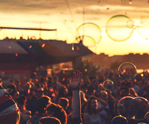 bubbles, party, and festival image
