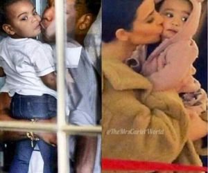 baby, kiss, and carter image
