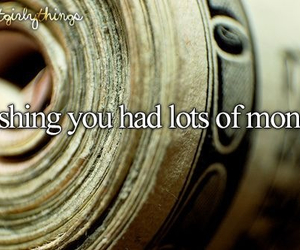 money, justgirlythings, and love image