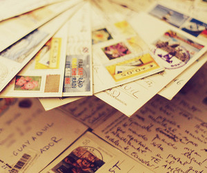 postcard, travel, and vintage image