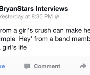 band members, facebook, and so true image