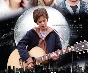 august rush, guitar, and love image