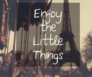 enjoy, quote, and paris image