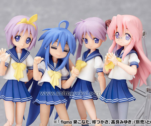 lucky star, anime, and Figure image