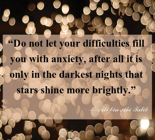 Don't Let Difficulties Fill You With Anxiety Inspirational Quotes Adorable Quotes To Help With Anxiety