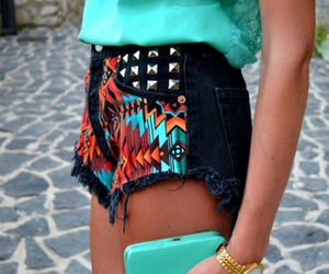 bright, outfit, and studs image