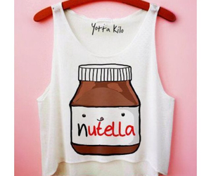 nutella, fashion, and food image
