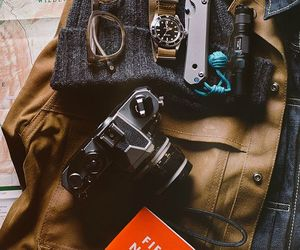 camera, vintage, and travel image