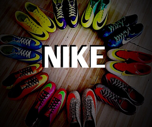 nikeeeeeee and soccer cleats bright image