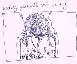 drawing, poetry, and quotes image