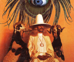 eye, goat, and movie image