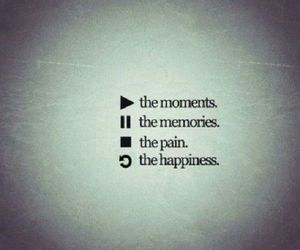 memories, moment, and pain image