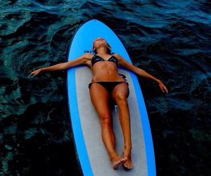 body, surf, and girl image