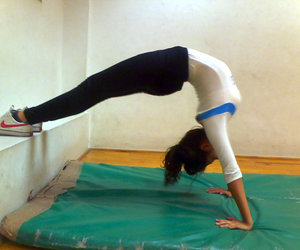 gymnastic, gimnasia, and arco image