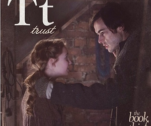 the book thief, trust, and book image