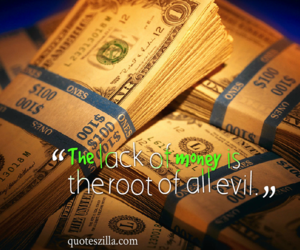 evil, quotes, and money image