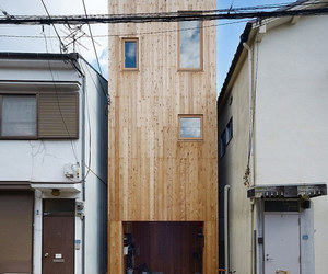 natural lighting, small space, and narrow house image
