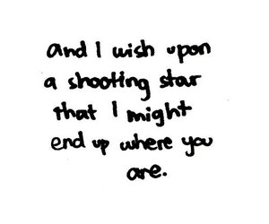 quote and shooting star image