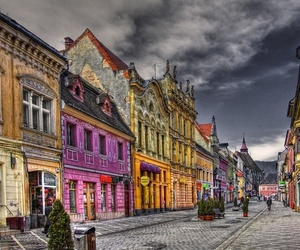 architecture, brasov, and colorfull image