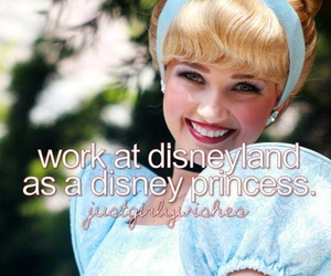 disney, princess, and disneyland image