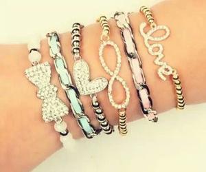 love, bracelet, and fashion image