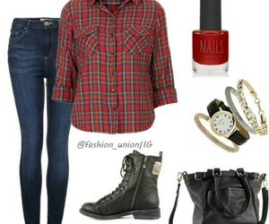 accessories, boots, and clothes image