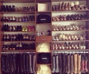 shoes, fashion, and chanel image