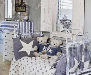 decorating, shabby chic, and home image