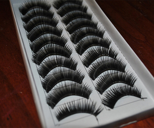 lashes and eyelashes image
