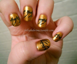 nails, LOTR, and lord of the rings image