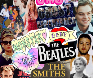 britney spears, Collage, and leonardo dicaprio image
