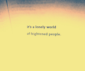 alone, humans, and people image
