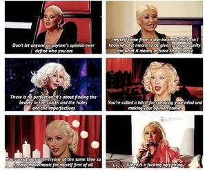 christina aguilera, fighter, and inspirational image