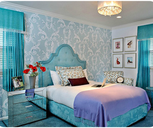 bedroom and blue image