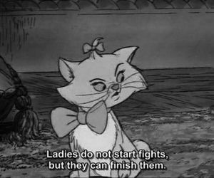 cartoons, cat, and quotes image