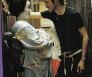 japan, geisha, and boy image
