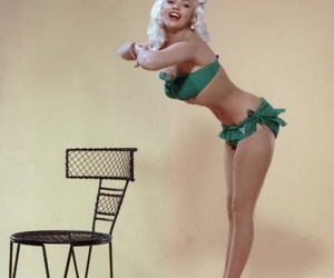 bathing suit, beauty, and vintage image