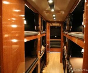 tour bus and bunks image