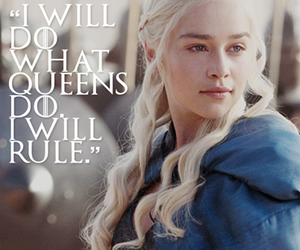 quotes, game of thrones, and khaleesi image