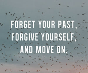 past, forgive, and quote image
