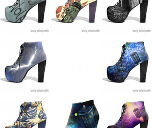 doctor who, fashion, and heels image