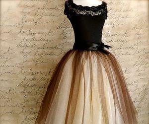 dress, vintage, and black image