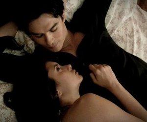 cuddle, tv, and Vampire Diaries image