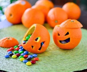 Halloween, orange, and candy image