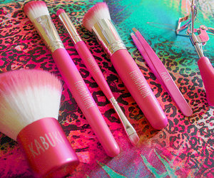 pink and Brushes image